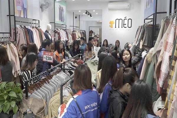 các shop quần áo ở cầu giấy