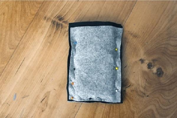 cách làm đồ handmade bằng vải dạ