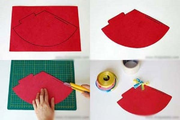cách làm nón sinh nhật bằng giấy