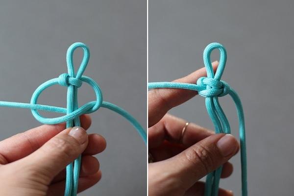 cách làm vòng tay bằng dây dù