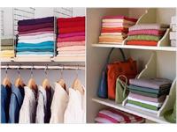 Cách sắp xếp treo quần áo trong tủ gọn gàng tiết kiệm diện tích