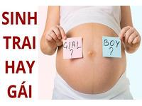 Cách tính sinh con trai hay gái theo tuổi mẹ hoặc cha như ý muốn