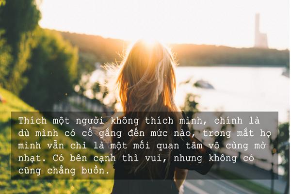 những câu nói hay về tình yêu đơn phương