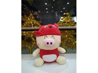 Gấu Bông Heo Đỏ