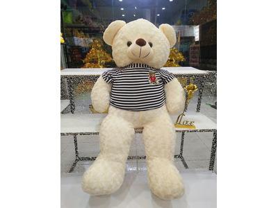 Gấu Bông Teddy Hug me Trắng