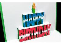 Hướng dẫn cách làm thiệp sinh nhật 3d chữ happy birthday
