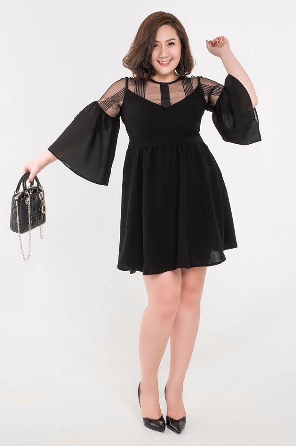 người béo lùn nên mặc váy như thế nào