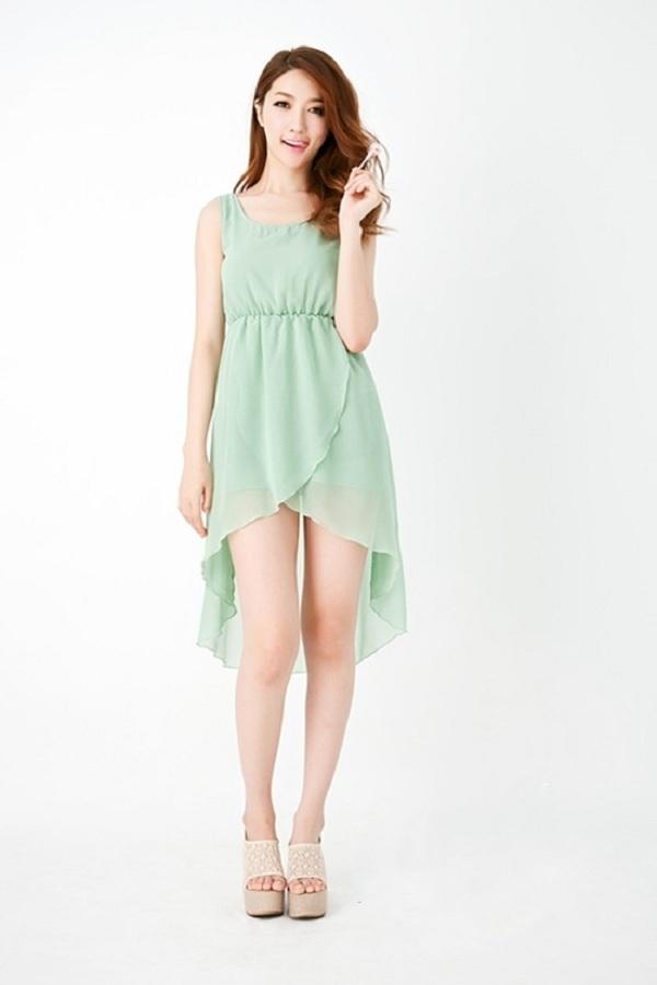 người lùn nên mặc váy gì