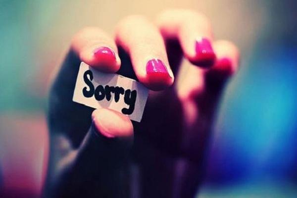 những câu nói xin lỗi người yêu
