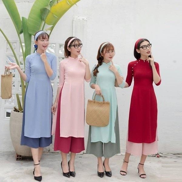 Shop bán áo dài cách tân may sẵn đẹp nhất ở TPHCM