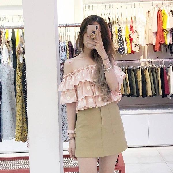 shop bán áo trễ vai đẹp