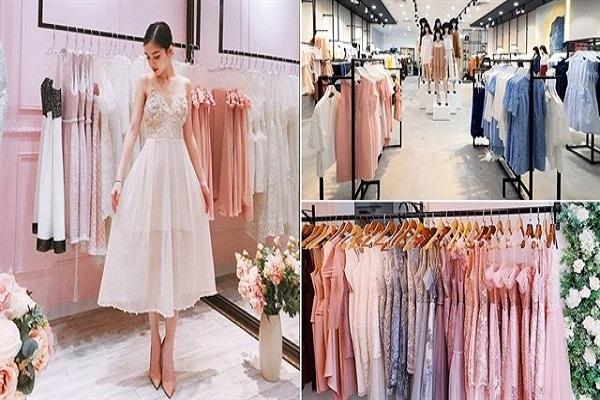 Shop bán đầm công chúa đẹp giá rẻ tại Sài Gòn
