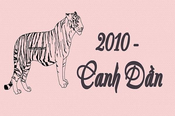 Sinh năm 2010 tuổi Canh Dần thuộc mệnh gì
