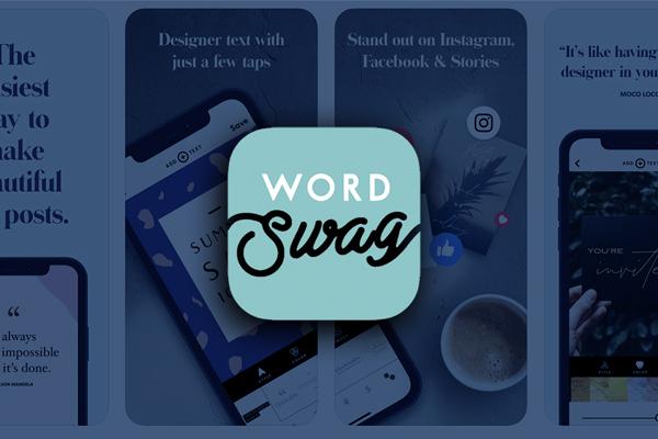 App ghép chữ vào ảnh đơn giản và nhanh chóng Word Swag