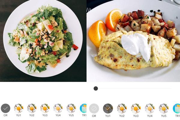 App chỉnh ảnh đồ ăn dặm cho bé: Foodie