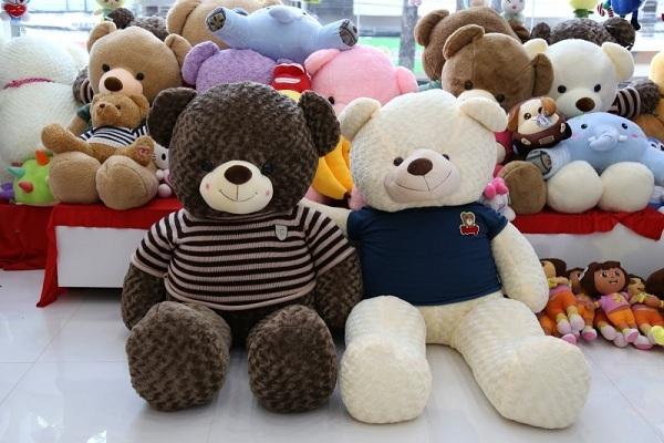 TTG địa chỉ mua bán gấu bông Teddy đẹp giá rẻ tại TPHCM